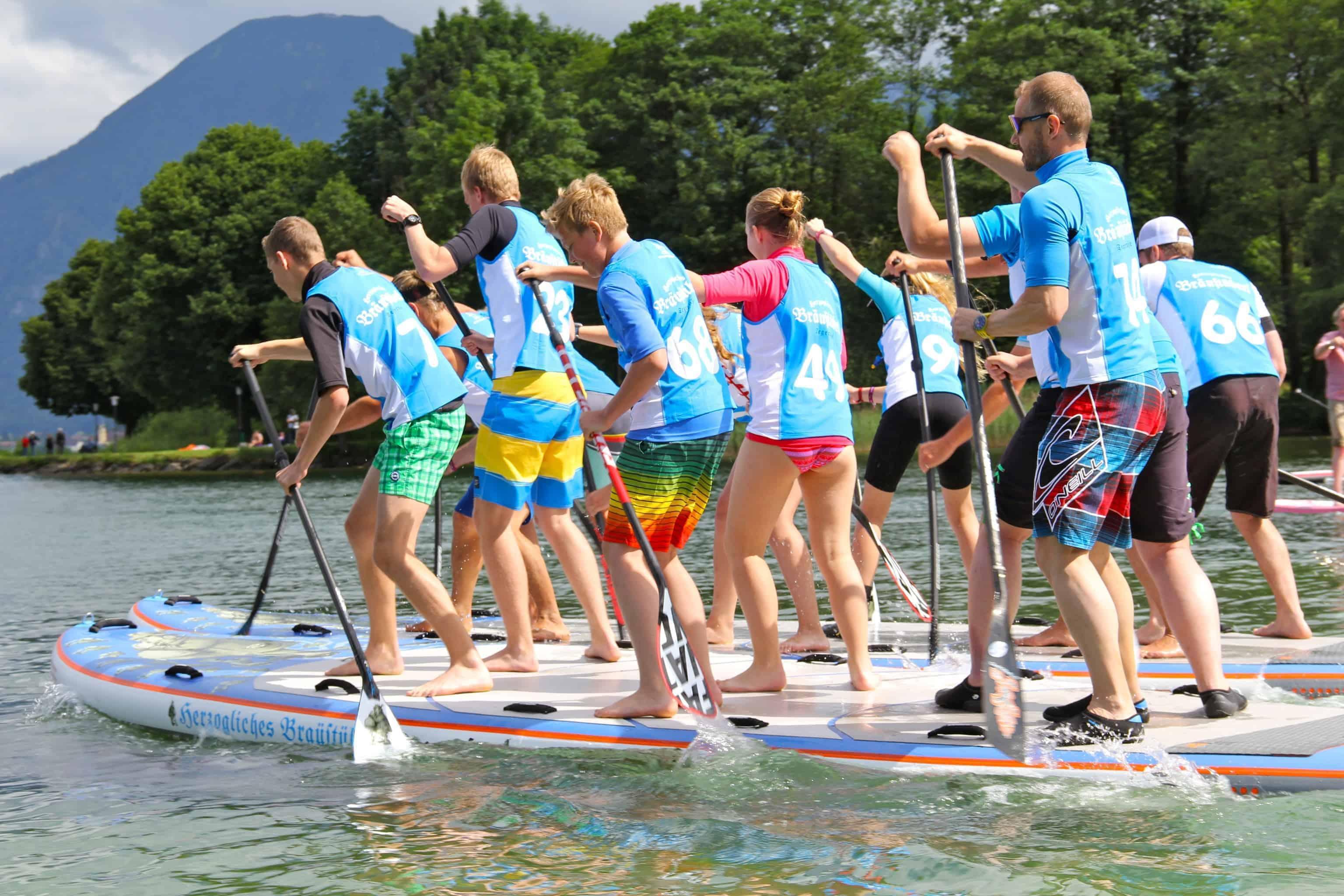 Fräscha Stand-Up-Paddling Team-Events - Sailingcenter Tegernsee TW-88