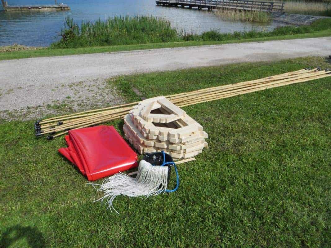 drachenboot-bau teambuilding - sailingcenter tegernsee